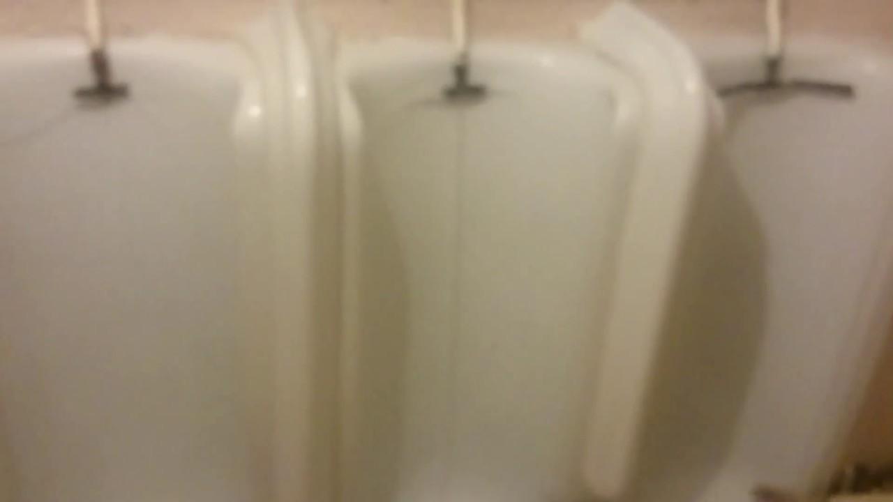 Vintage Urinals Flushing (3) - YouTube