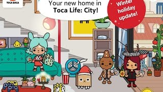 Toca Life: City Part 4 Christmas Update - Best iPad app demo for kids - Ellie