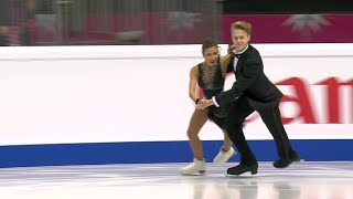 Диана Дэвис - Глеб Смолкин. Ритм-танец. Танцы. Юниоры. Финал Гран-при по фигурному катанию 2019/20