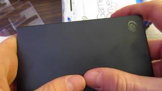 PS4 Seagate Game Drive 2TB Review And Unboxing