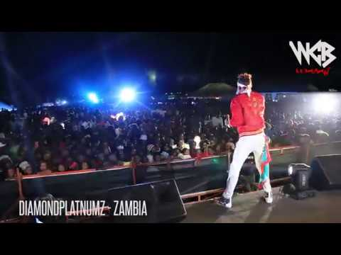 Diamond Platnumz - Live performance at Zambia