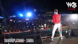 Download Diamond Platnumz - Live performance at Zambia