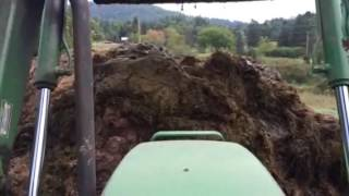 Moving manure