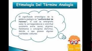 analogias verbales 01 - etimología
