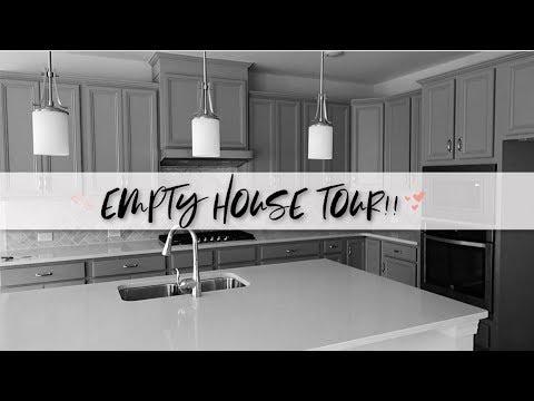 WE BUILT OUR DREAM HOME!    EMPTY HOUSE TOUR!