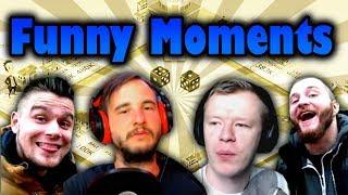 Funny Moments - Bladii & Dobrodziej & Diabeuu & Plaga   Business Tour