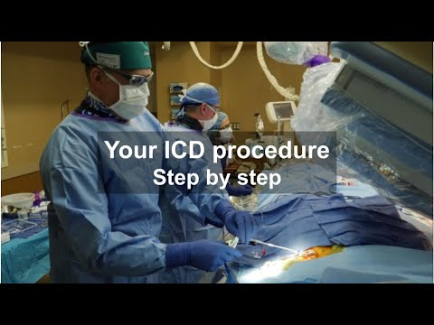 Getting an ICD? Watch an implant procedure!