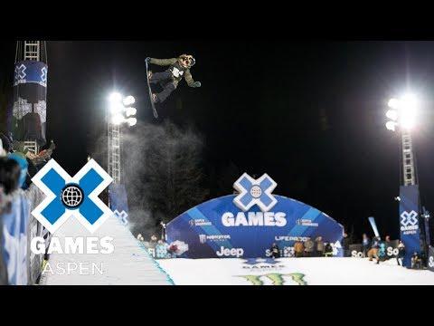 Arielle Gold wins Women's Snowboard SuperPipe silver   X Games Aspen 2018