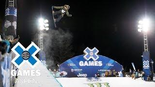Arielle Gold wins Women's Snowboard SuperPipe silver | X Games Aspen 2018