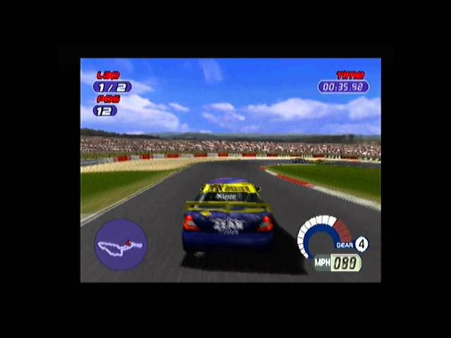 Quick Look TOCA World Touring Cars ps1