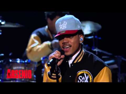 Chance The Rapper Chain Smoker Live At The Arsenio Show