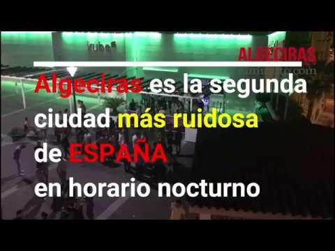 Ruido insufrible en la noche del centro Algeciras