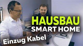 Smartest Home - Neubau EFH   Einzug aller Kabel in Leerrohre - Folge 20