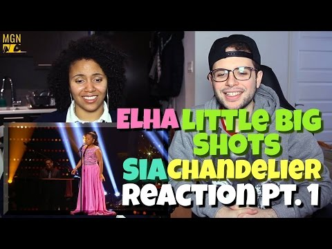 12 Year Old Elha - Chandelier (Sia) Little Big Shots Reaction Pt.1