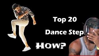 Download Top 20 Complicated dance steps of Allu Arjun till 2020 (REACTION)