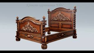 видео Изготовление элитной мебели из ценных пород дерева