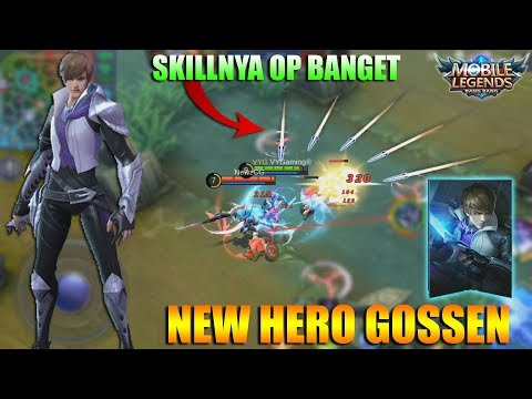 NEW HERO GOSSEN HOLY BLADE - OP Assassin Pengganti Lancelot (Mobile Legends Indonesia)