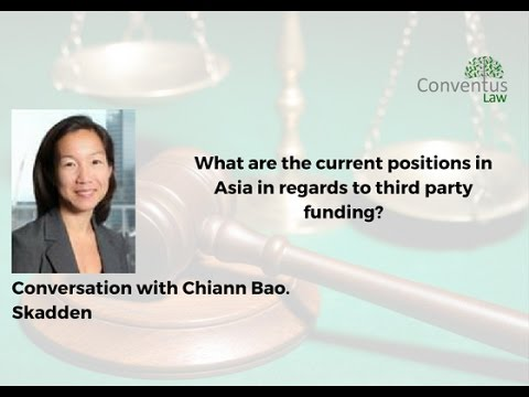 Asia - Current positions in regards to third party funding.