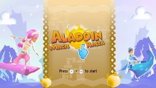 Aladdin Magic Racer Wii Gameplay