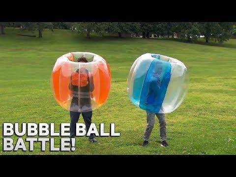 JONNY GRAY Bubble Ball Battle!  Zone on the Road