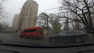 Уроки вождения Киев и пригород. Развороты в первый раз