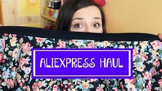 ✩ Aliexpress HAUL - kupiłam kurtkę! ✩