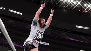 WWE 2K19 Daniel Bryan Showcase Gameplay thumbnail