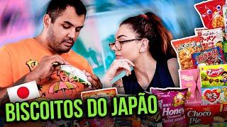 PROVANDO BISCOITOS EXÓTICOS DO JAPÃO!