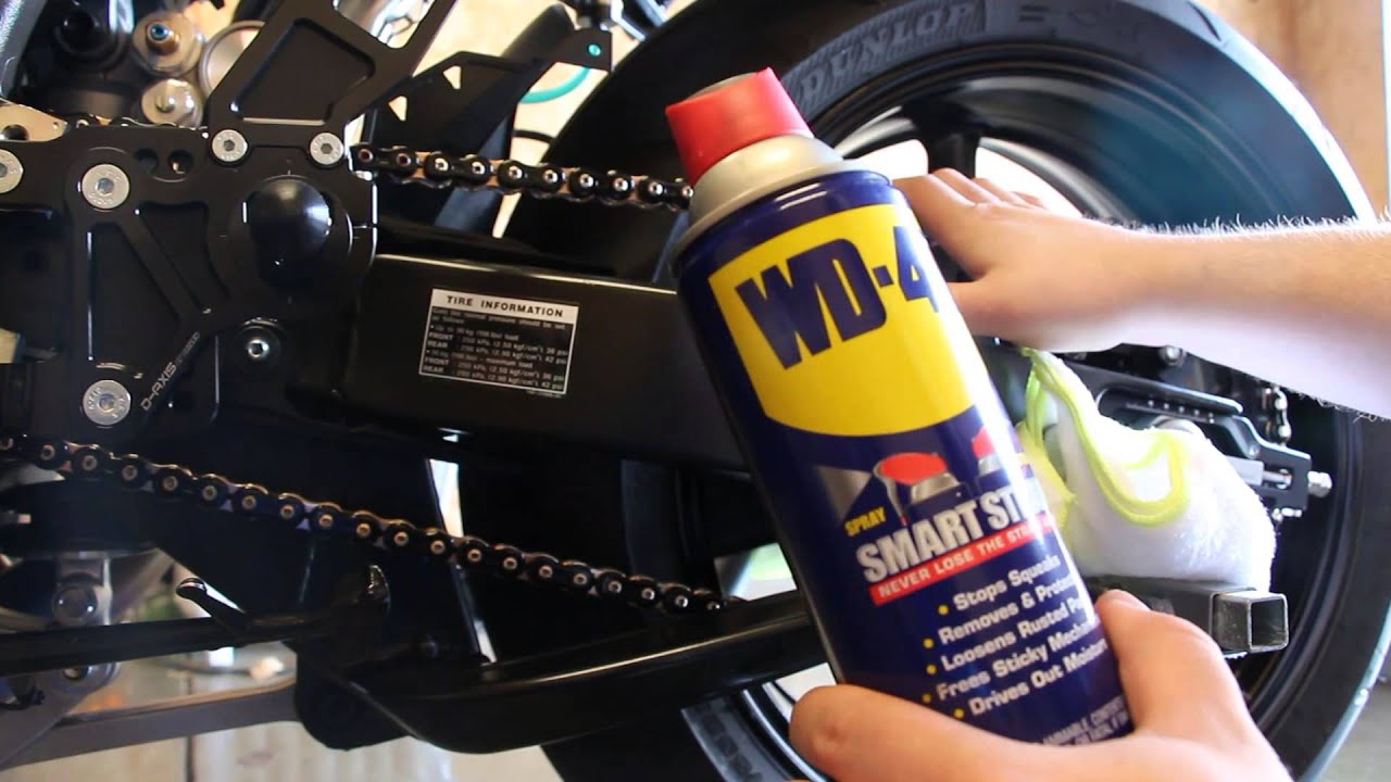 How to motorcycle chain cleaning youtube for Interieur auto reinigen tips