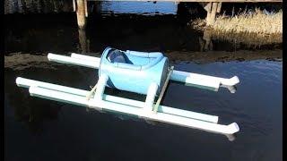 $51 Homemade Barrel Kayak How To