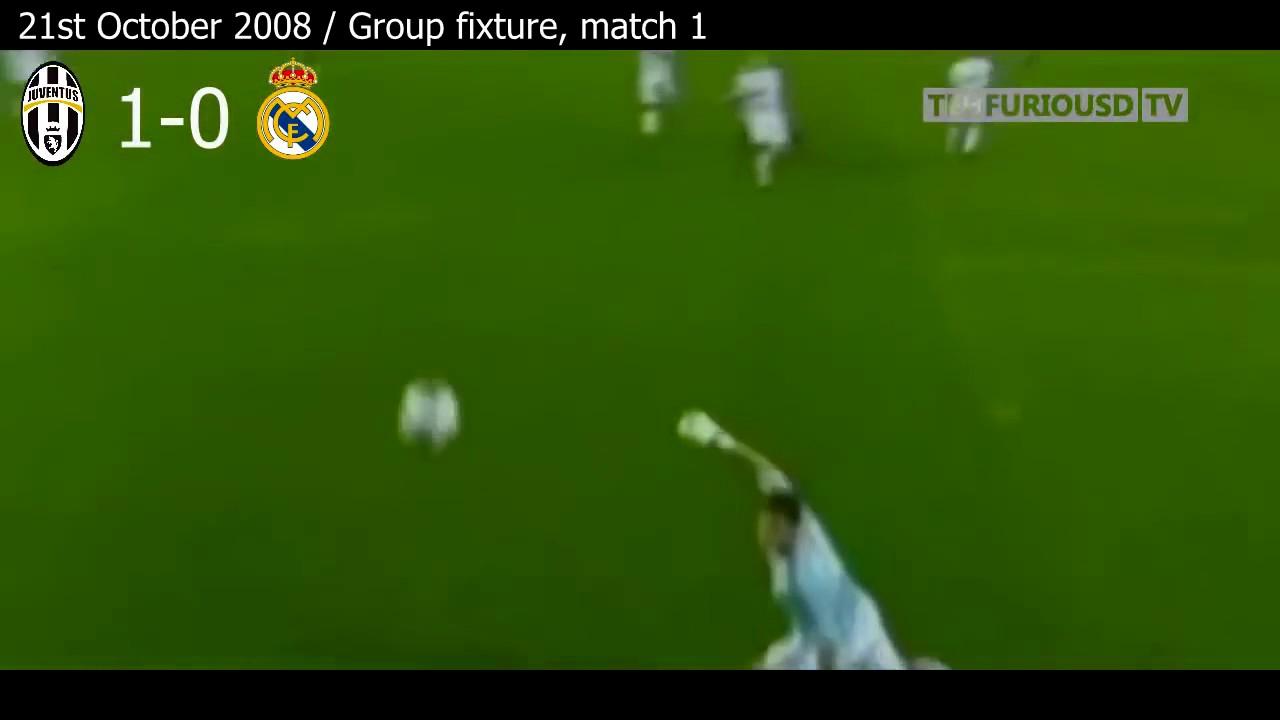 Реал ювентус 2008