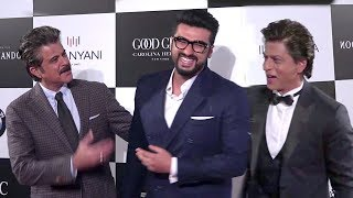 Shahrukh Khan,Anil Kapoor & Arjun Kapoor's FUNNY Moments At Vogue Women Of The Year Awards 2017