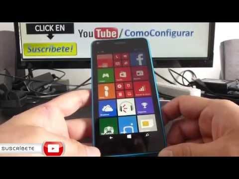 Microsoft Lumia 640 LTE Que Aplicaciones Trae Español