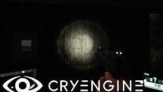 Cryengine V (Cryengine 5) #32 Создание фонарика. Включение - отключение от кнопки. Flashlight