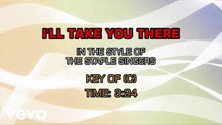 Staple Singers - I'll Take You There (Karaoke)