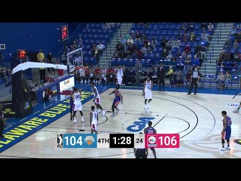Isaiah Hicks Posts 15 points & 11 rebounds vs. Delaware 87ers