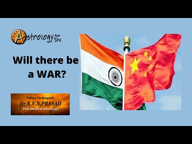 Will there be a war between India & China?