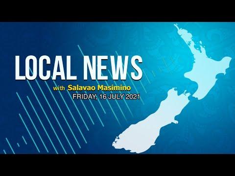 NZ Local News (16 JUL 2021) - Radio Samoa