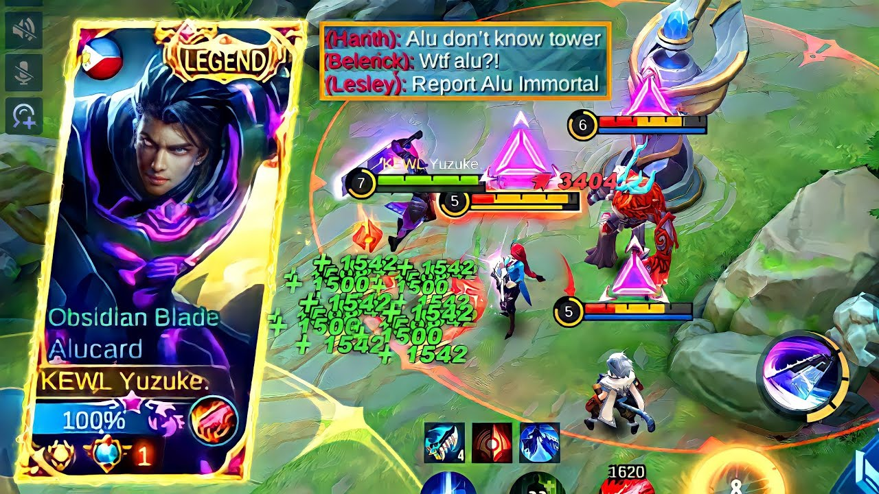 Best Alucard Build To Kill Enemies With New Higher Tower Damage! | MLBB