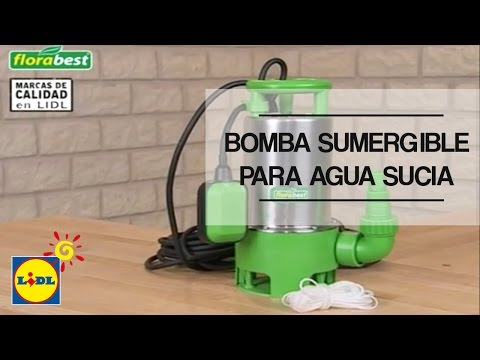 Bomba sumergible doovi - Bomba agua sucia ...