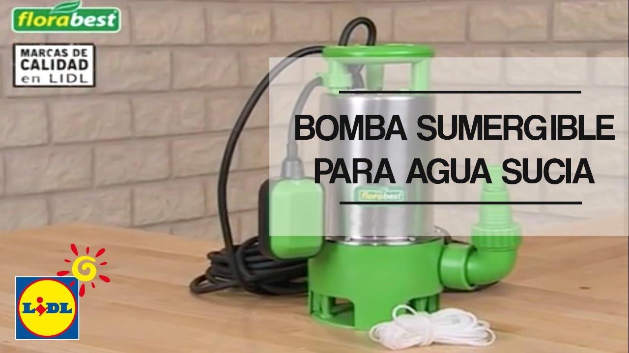 Bomba sumergible para agua sucia lidl espa a youtube - Bombas de agua ...