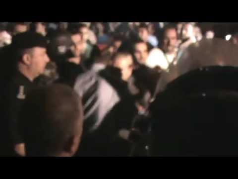 Protests for Gaza Near Israel Embassy in Jordan: Calling Jordan Gendarme Zionists