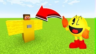 How To Spawn PACMAN in Minecaft Pocket Edition/MCPE