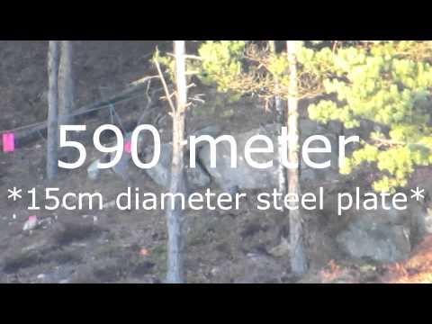 LongrangeSweden -Tikka T3 6,5x55 3 shot group @ 575 meters
