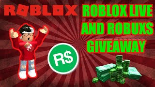 🔴Roblox Live #105🔴EVERY 5 SUBS GIVING AWAY 10 ROBUXS