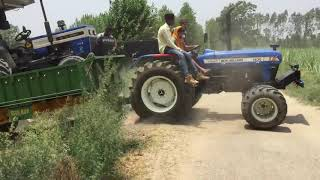 New Holland Vs Swaraj | Tractor Tochan 2018 | Tochan Of New Holland vs Swaraj