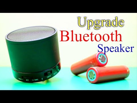 The Portable Bluetooth Stereo Speaker How to Open and How to