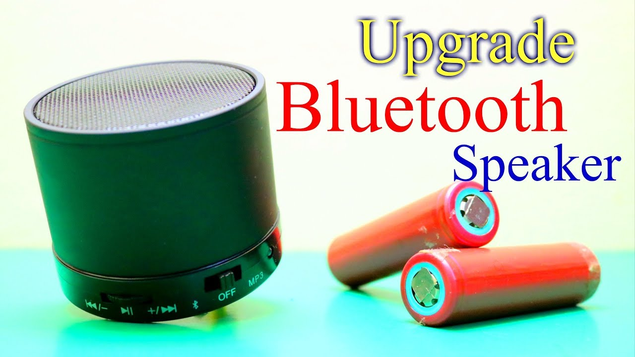 The Portable Bluetooth Stereo Speaker How to Open and How to Increase  Battery Life