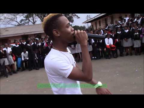 Nature Boy Performs  Sohamba Ngo 7 at Le Life Tour   Nombika High School
