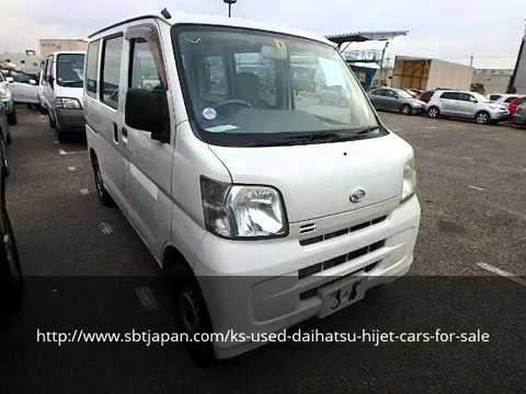 Used Daihatsu Hijet Cars For Sale   SBT Japan